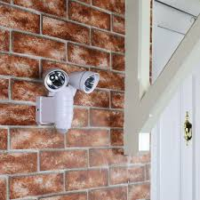 battery operated security lights outdoor battery operated security light with pir sensor