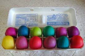 easter egg dye easter eggs dyed the way arts culture smithsonian