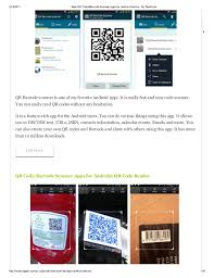 barcode reader app for android best qr code barcode scanner apps for android device