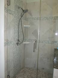bathrooms design white subway tile bathroom shower floor gallery