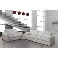 canapé blanc cuir canape blanc cuir canap sofa divan miliboo canap cuir design blanc