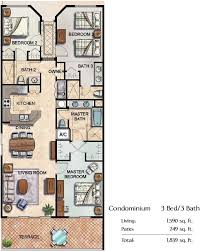 Sony Centre Floor Plan Spacious 3 Bed Luxury Condo In Center Court Ridge Reunion