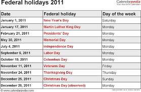 thanksgiving 2011 canada federal holidays 2011