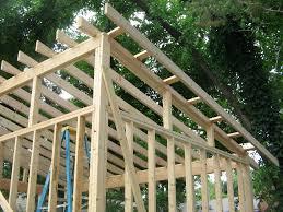 slanted roof u0026 diy lean to or slanted roof shed built after a
