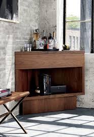 crate and barrel bar table furniture corner bar from crate barrel space saving corner