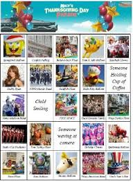 macy s thanksgiving day parade bingo cards to help engage your