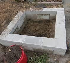 a mosaic cinder block garden bed the survival gardener