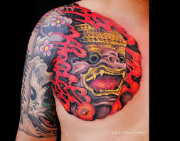 khun thai mask tattoo archives