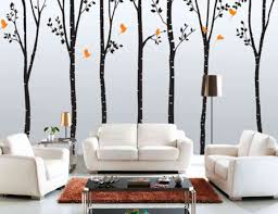 Beautify The Interior Wall House With Wallpaper Murals Drawhome - Wallpaper interior design ideas
