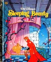 walt disneys sleeping beauty golden book michael