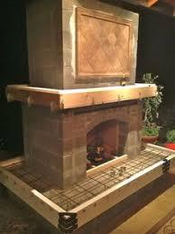 Outdoor Fireplace Insert - outdoor fireplace kits home depot home kits outdoor fireplace