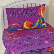 My Little Pony Duvet Cover My Little Pony U0027s Twin Sheet Set Mlp Rocks