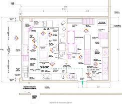 kitchen impressive burger restaurant kitchen layout asian design