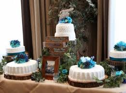 rustic wedding cake stands rustic wedding décor we bridal garage sales