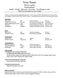 blank resume templates for microsoft word free blank resume templates for microsoft word resume exles