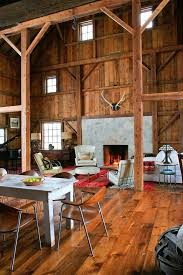 barn home interiors barn home interiors living room rustic with open floor plan