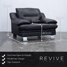 designer sofa leder 100 laauser sessel de sede designer sessel leder schwarz