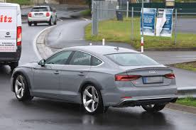 first audi ever made 444bhp twin turbo v6 powered audi rs5 sportback seen testing autocar