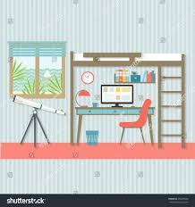 living room modern interior design infographic stock vector