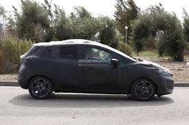 nissan black 2017 2017 nissan micra successor spied has sway concept styling cues