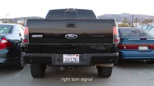 2004 f150 tail lights 04 08 ford f150 styleside led tail lights installation youtube