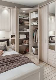 Bedroom Bed In Corner Luxor Bedrooms U0026 Wardrobes By Wiemann Uk