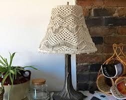 Lamp Shades Etsy by Macrame Lamp Shade Etsy Macrame Lampshades Pinterest