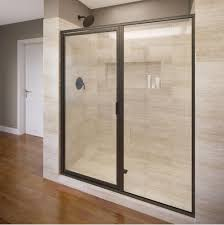 Clear Shower Door by Showers Shower Doors Ruehlen Supply Company North Carolina