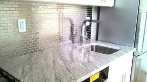 Kitchen Backsplash Contemporary Kitchen Other Beautiful Innovative Stainless Steel Subway Tile Backsplash