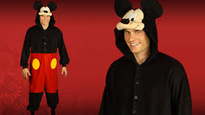 Mickey Mouse Halloween Costume Adults Mickey Mouse Pajama Costume