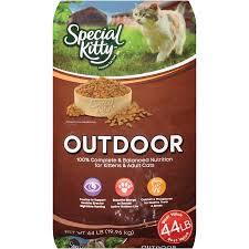 outdoor cuisine special outdoor formula cat food 44 lb walmart com