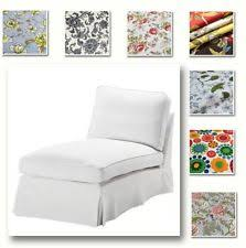 Ektorp Chaise Chaise Lounge Floral Furniture Slipcovers Ebay
