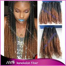 ombre marley hair stock cheap price 20 fold colored two tone black brown synthetic