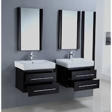 Legion Bathroom Vanity by Elegant Black Wooden Vanity With White Quartz Counter Top Most