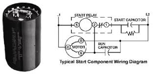 copeland high torque start components start capacitor