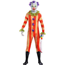Scary Clown Halloween Costumes Adults Creepy Clown Suit Images Reverse