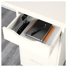 Two Drawer Filing Cabinet Ikea Linnmon Alex Table Black Brown White Ikea