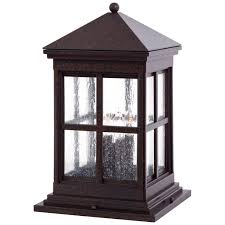 berkeley column mount exterior light minka lavery pier mount