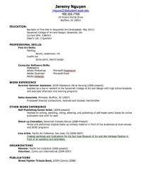 new graduate resume help work experience