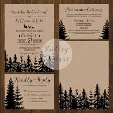 funky wedding invites hadley designs rustic