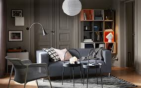 grey livingroom living room furniture ideas ikea