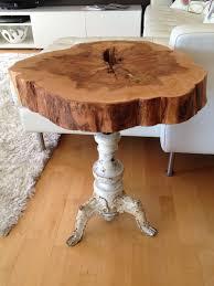 wood stump coffee table stump coffee table awesome diy tree stump table ideas how to