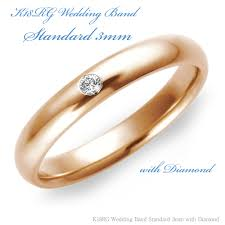 maine wedding band shino eclat rakuten global market k18rose gold wedding band