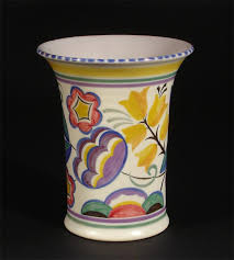 Poole Pottery Vase Patterns A Poole Pottery Vase Pattern Yw By Margaret Atkins Lot 900