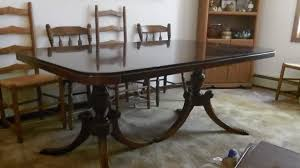 Duncan Phyfe Dining Room Table And Chairs Enchanting 1950s Dining Room Set Gallery Best Ideas Exterior