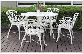 Cast Aluminum Patio Chair Extremely Ideas White Aluminum Patio Furniture Cleaning Cast