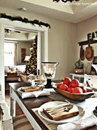 Home Decorating Ideas For Christmas Our Vintage Home Love Christmas Table Decor Ideas