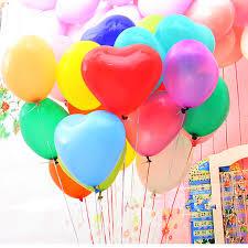 heart balloons 12 heart balloons wedding bridal shower baby