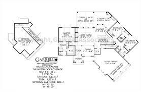 open ranch style floor plans westbrooks cottage 11116 g house plan covered porch plans