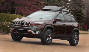 lowered jeep wagoneer 2014 jeep cherokee trail carver conceptcarz com